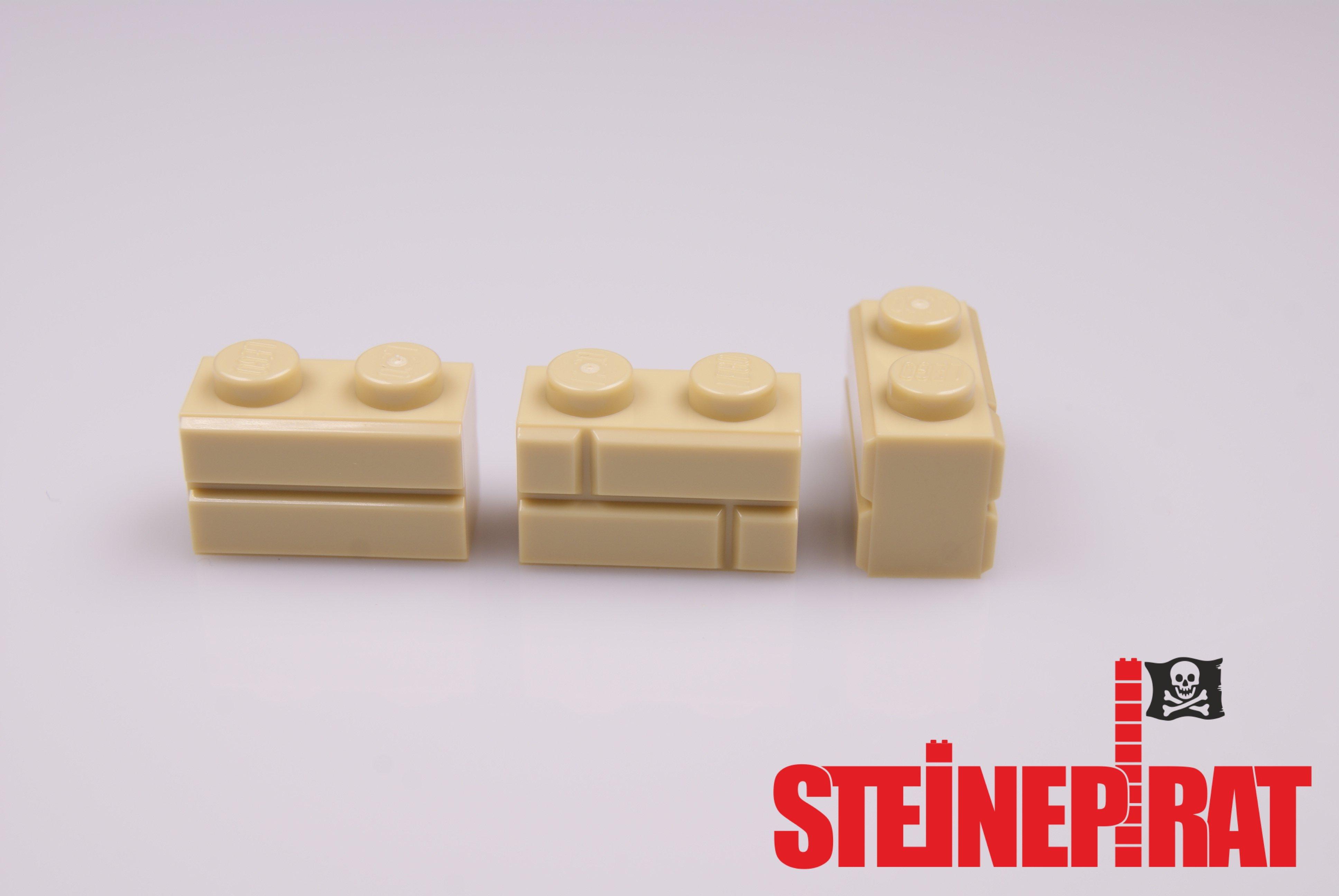 lego 10x 98283 neu mauerstein klinker ziegelstein hellbeige tan rar ebay. Black Bedroom Furniture Sets. Home Design Ideas