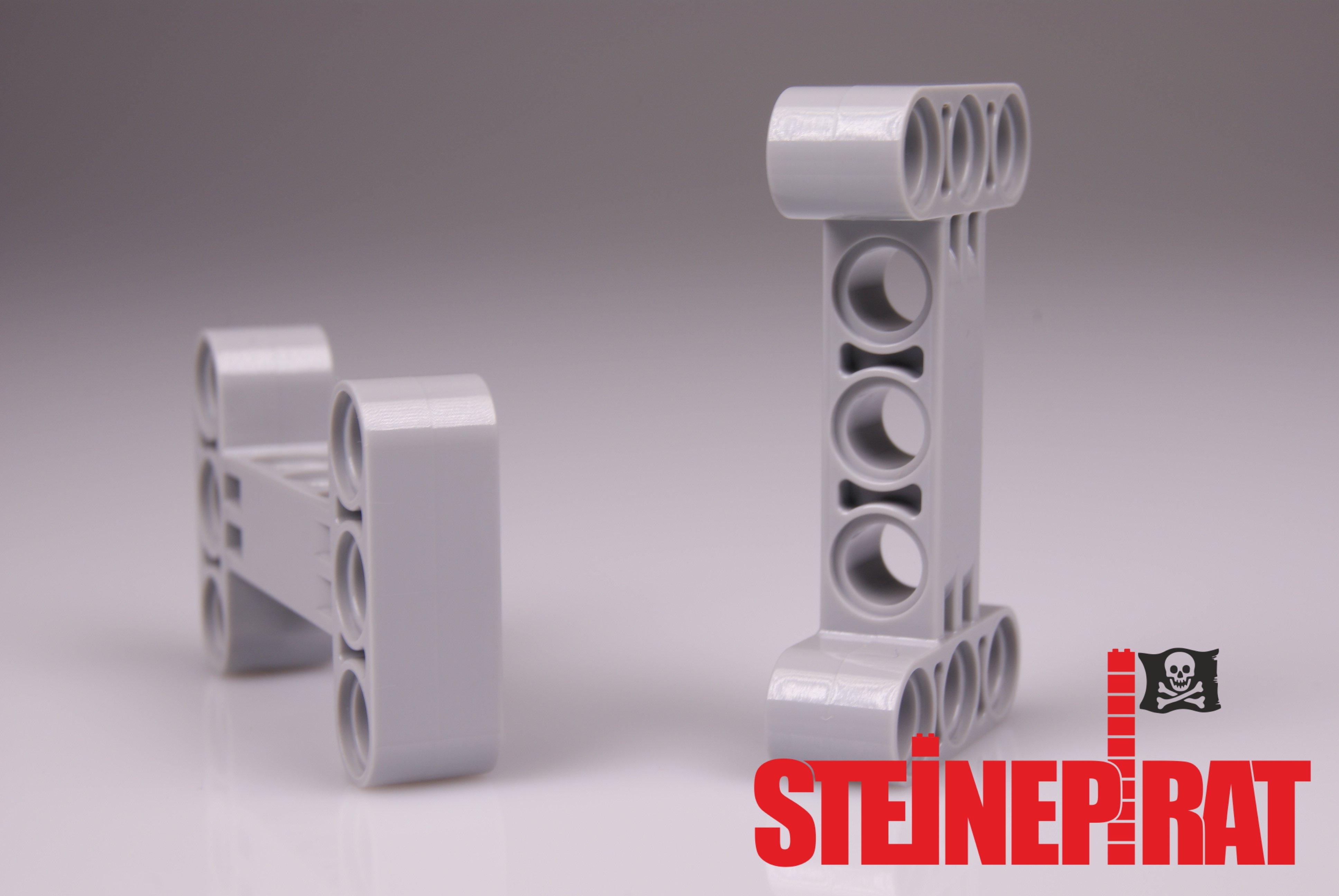 Lego Technic Technik 2x H-Verbinder rot #14720 NEUWARE