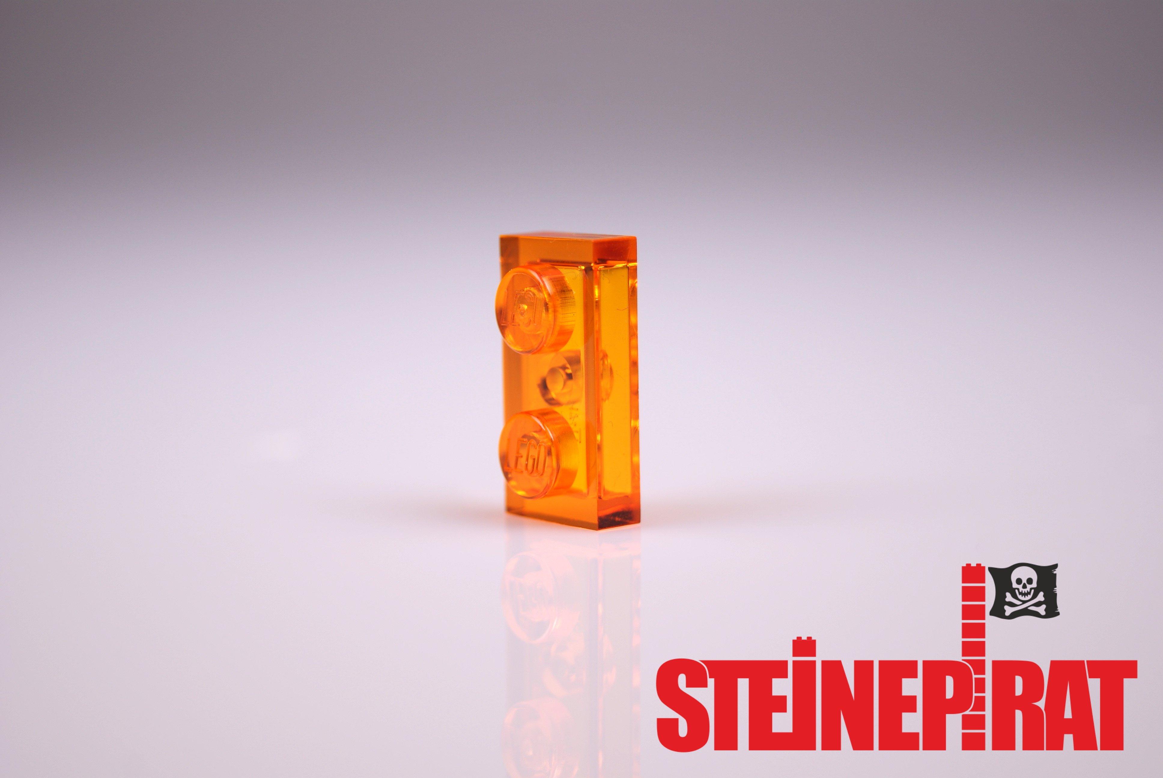 LEGO 10 x Wand Säule 1x2x5 rot red wall brick pillar 2454 245421 4212414